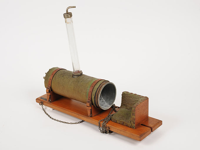 腕の容積脈波測定装置Plethysmograph nach Lehmann