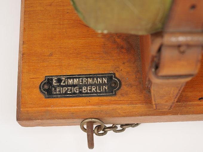 腕の容積脈波測定装置Plethysmograph nach Lehmann8
