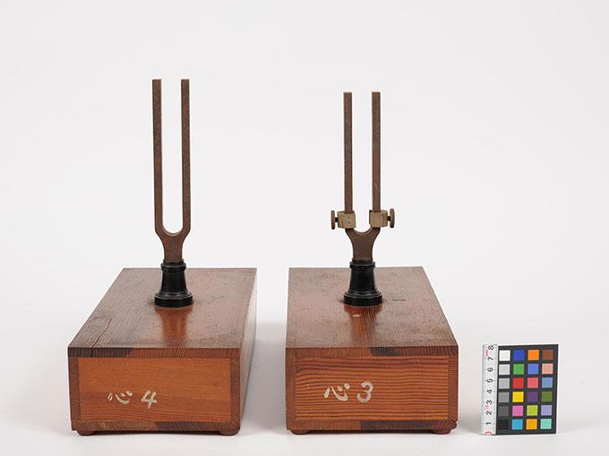 音叉および共鳴箱4