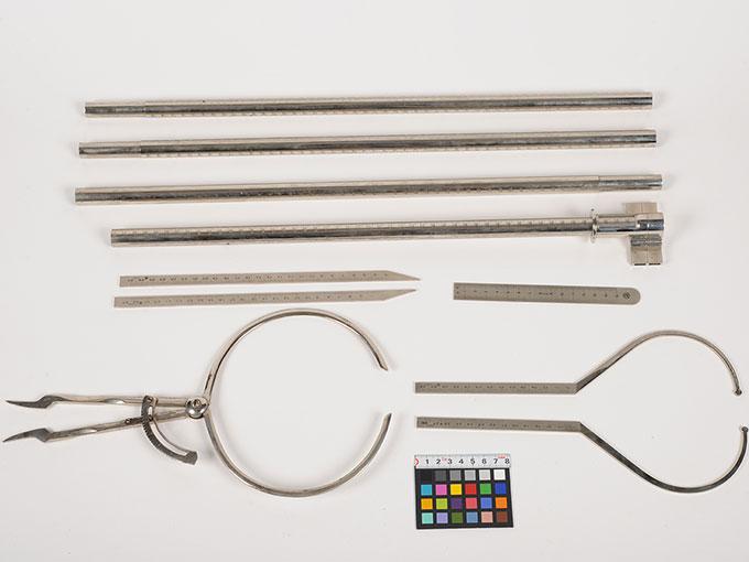 改良マルチン式人体測定器マルチン氏人体測定器