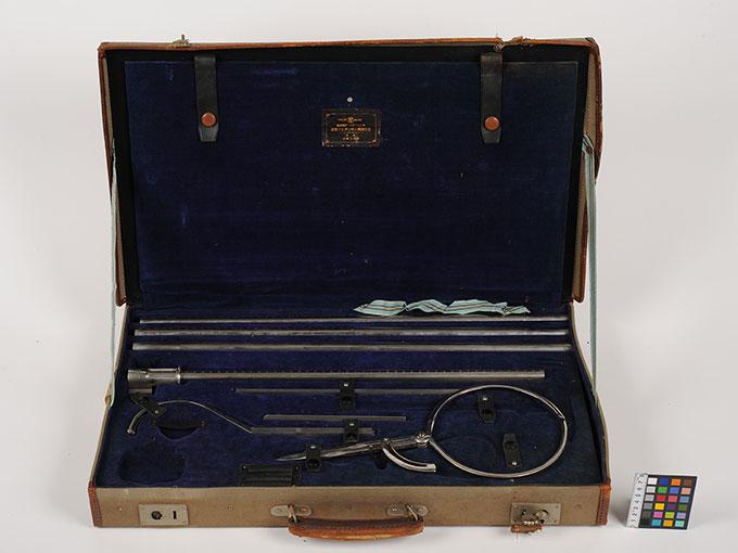 改良マルチン式人体測定器マルチン氏人体測定器3