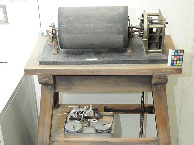 ヴント式クロノグラフヴント氏クロノグラフ (微小時間測定器)2