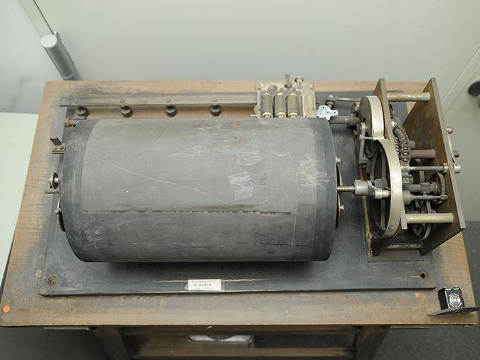 ヴント式クロノグラフヴント氏クロノグラフ (微小時間測定器)4