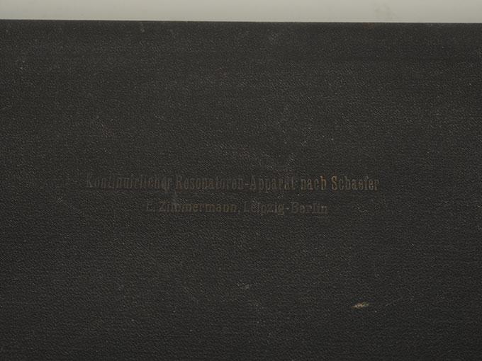 シェーファーの共鳴測定器シェーフェル氏共鳴器19