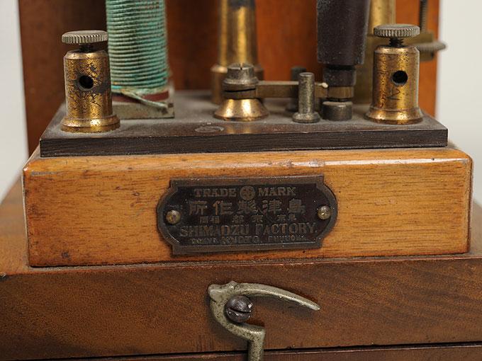 最小可聴音検査器(横形)Schlitteninduktions Apparat nach Du Bois-Reymond7