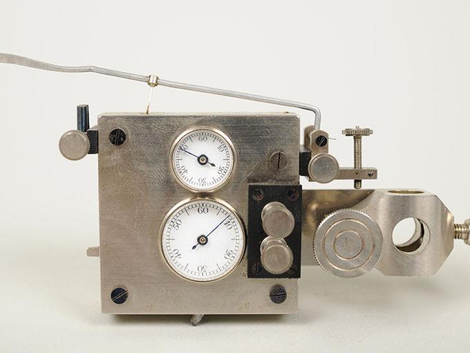 ヤッケのクロノメーターGraphische Chronometer nach Jaquetジャッケのクロノメーター6
