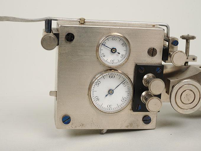 ヤッケのクロノメーターGraphische Chronometer nach Jaquetジャッケのクロノメーター12