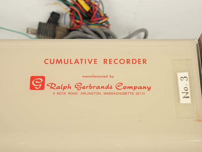 累積記録器Cumulative Recorder9