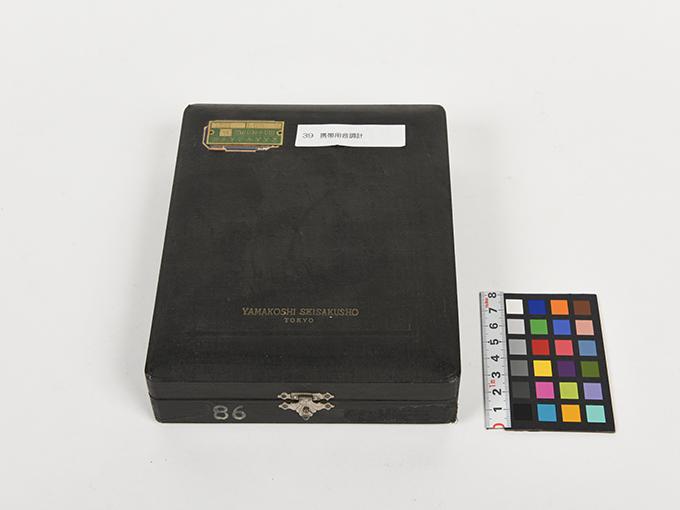 携帯用音調計ホルンボステル氏携帯用音調計6
