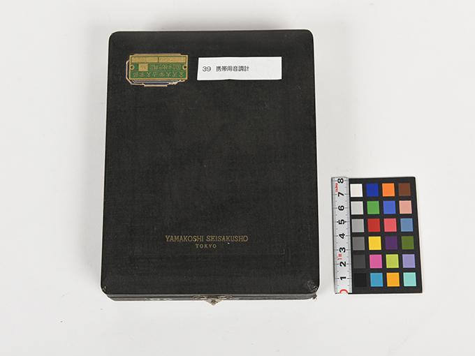 携帯用音調計ホルンボステル氏携帯用音調計7