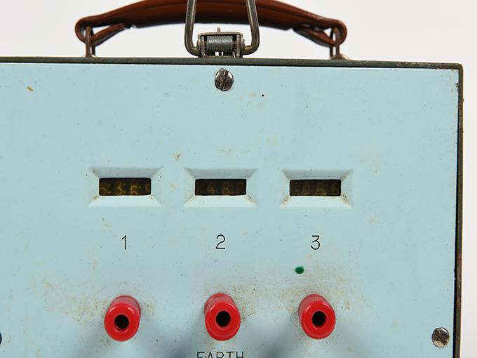 直立安定検査器労研式直立安定度測定器4