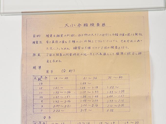 大小反応検査器10