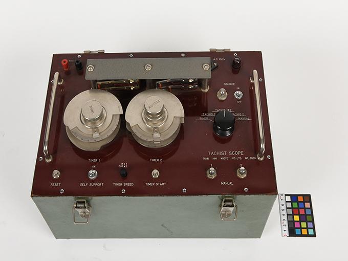 タキストスコープの時間・照度の調節器(名称記入なし2点一式の1)TACHISTSCOPE、(名称記入なし2点一式の2)7