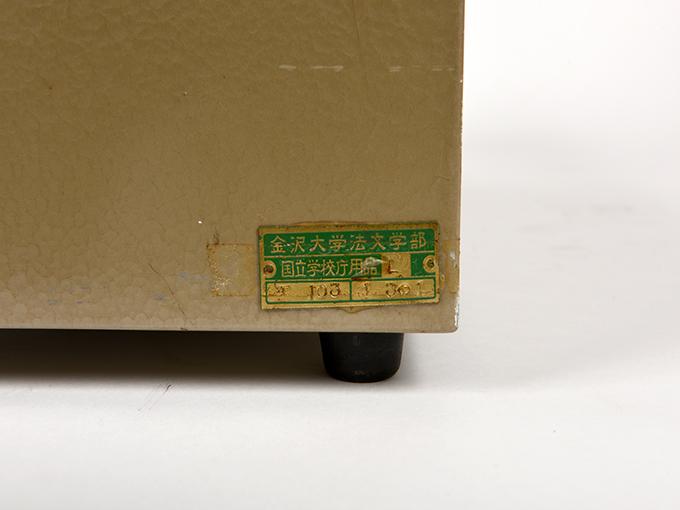 スキナーボックスの記録器阪大式スキナーボックス(1)7