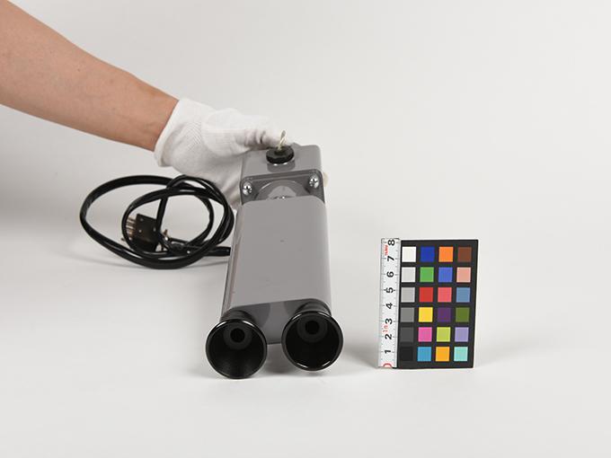 フリッカー電気閃光値測定器2点1式のうち1、電気閃光値測定器2点1式のうち211