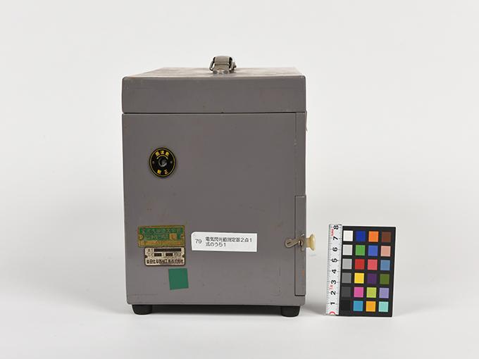 フリッカー電気閃光値測定器2点1式のうち1、電気閃光値測定器2点1式のうち216