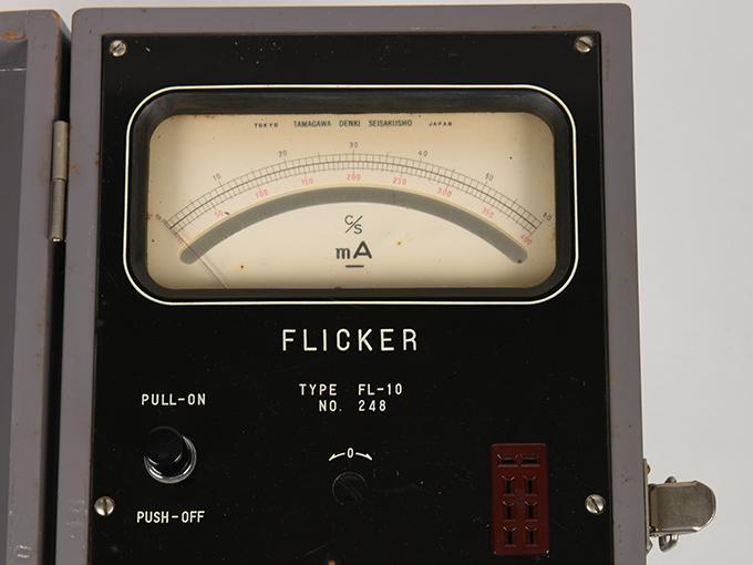 フリッカー電気閃光値測定器2点1式のうち1、電気閃光値測定器2点1式のうち219