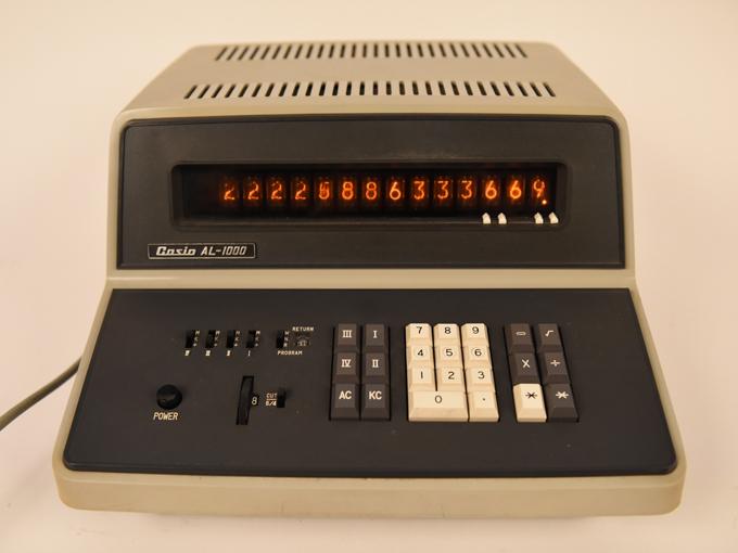 計算器10