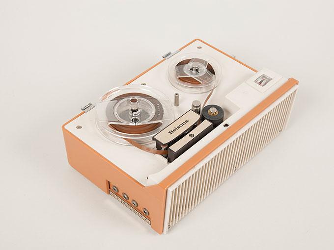 テープレコーダーBelsona TRQ-399オープンリール式ポータブルテープレコーダー