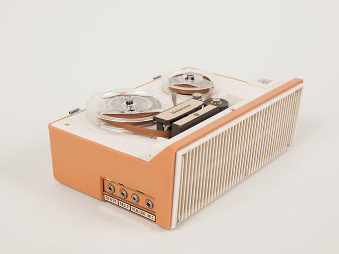 テープレコーダーBelsona TRQ-399オープンリール式ポータブルテープレコーダー2
