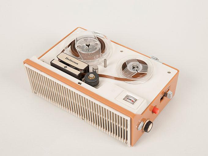 テープレコーダーBelsona TRQ-399オープンリール式ポータブルテープレコーダー3