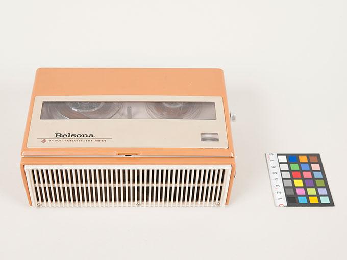 テープレコーダーBelsona TRQ-399オープンリール式ポータブルテープレコーダー9