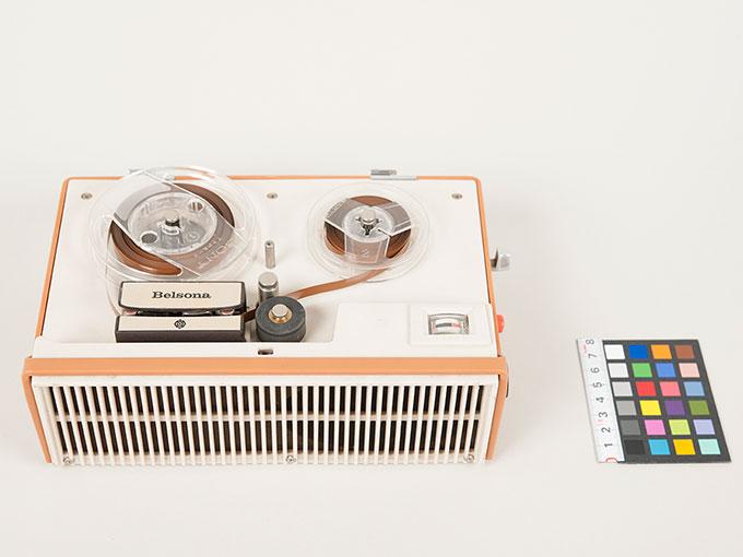 テープレコーダーBelsona TRQ-399オープンリール式ポータブルテープレコーダー10