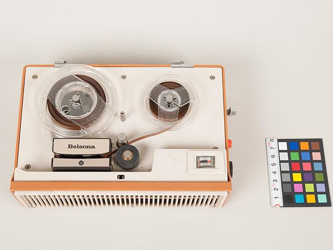 テープレコーダーBelsona TRQ-399オープンリール式ポータブルテープレコーダー11