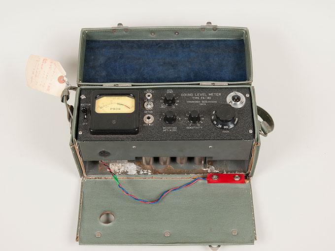 騒音計KYSポータブル指示騒音計 PA-405