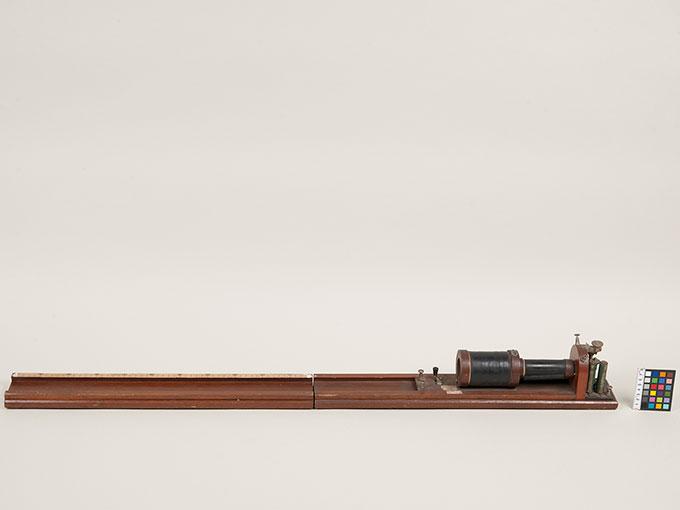 滑動感応器Schlitteninduktions Apparat nach Du Bois-Reymond, 最小可聴音検査器(横型) デュボアレーモン滑走聴覚計4