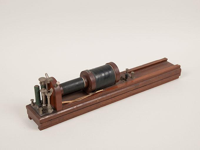 滑動感応器Schlitteninduktions Apparat nach Du Bois-Reymond, 最小可聴音検査器(横型) デュボアレーモン滑走聴覚計5