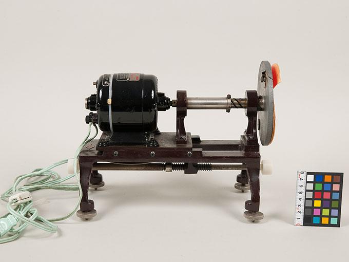 電動混色器セクター可変電動混色器2