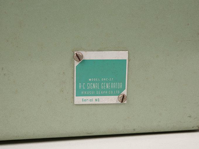 信号発生器R-C Signal Generator OCR-2711