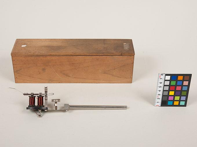 カイモグラフ用記録ペン、マーカーカイモグラフ附属装置12