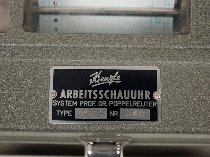 作業記録時計Arbeitsschauuhr7