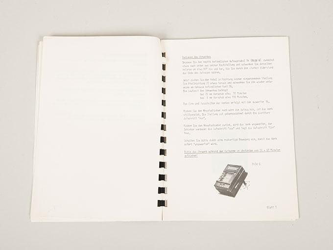 作業記録時計Arbeitsschauuhr16