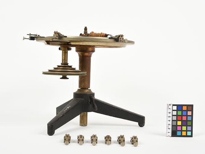 Meumannの時間知覚装置Meumann's universal contact apparatusUmvesal-Kontaktopparat, 阿部効果装置3