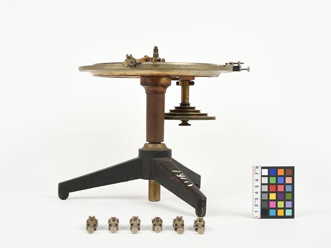 Meumannの時間知覚装置Meumann's universal contact apparatusUmvesal-Kontaktopparat, 阿部効果装置5