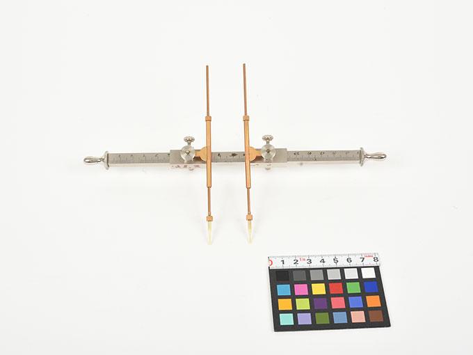 Michotteの皮膚感覚計測器Eesthesiometer de Michotte