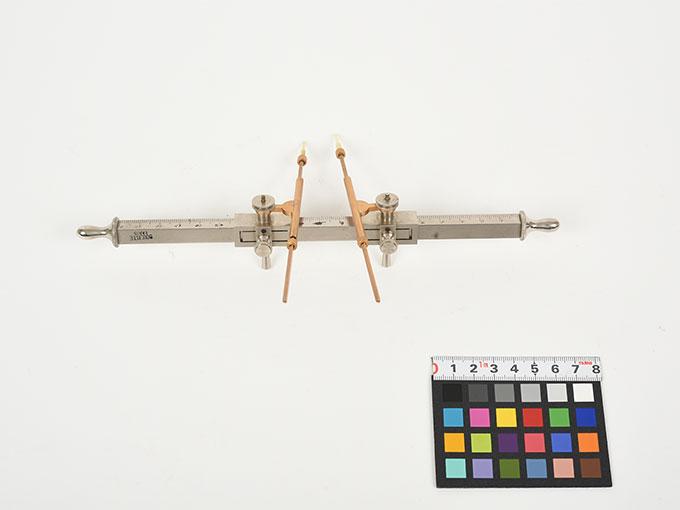 Michotteの皮膚感覚計測器Eesthesiometer de Michotte3