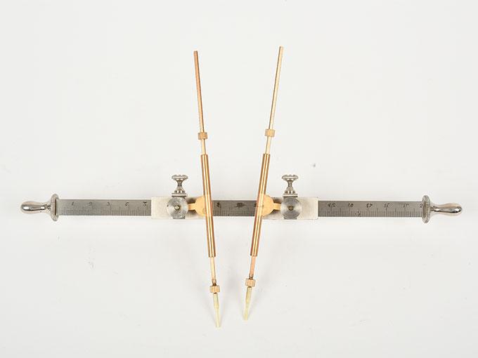 Michotteの皮膚感覚計測器Eesthesiometer de Michotte5