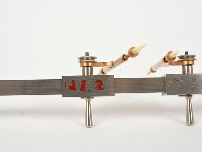Michotteの皮膚感覚計測器Eesthesiometer de Michotte6