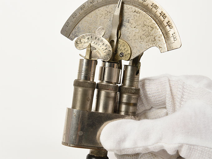 Reise tonometer/携帯型音響発生器ホルンベスデルの携帯型音響発生器Reisetonometer nach Hornbostel