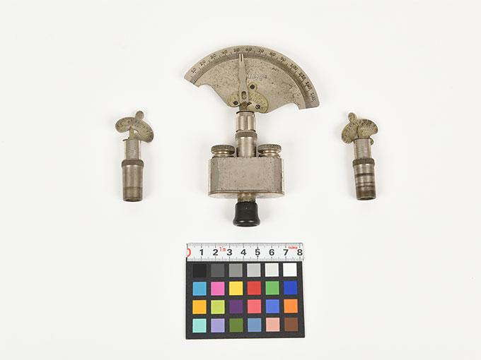 Reise tonometer/携帯型音響発生器ホルンベスデルの携帯型音響発生器Reisetonometer nach Hornbostel3