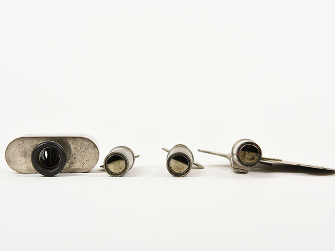 Reise tonometer/携帯型音響発生器ホルンベスデルの携帯型音響発生器Reisetonometer nach Hornbostel8