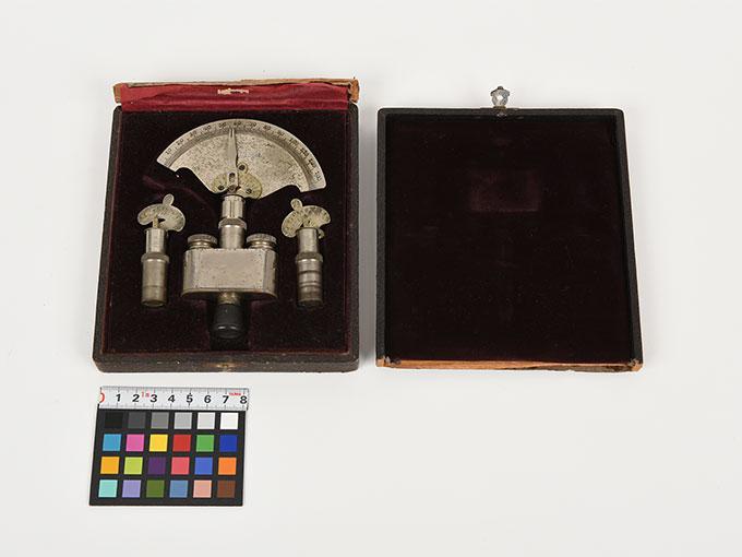 Reise tonometer/携帯型音響発生器ホルンベスデルの携帯型音響発生器Reisetonometer nach Hornbostel11