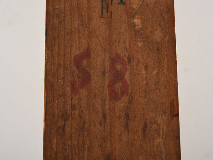 Labialpfeife mit verschiebbararem, geteiltem Stempel c1-c2トコロテン・トロンボーン16