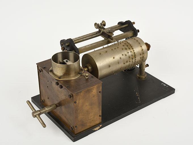 ヴント式リズム発生器Taktiervarrichtung nach Wundt雨だれの音・光パタンニング