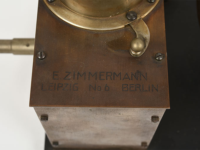 ヴント式リズム発生器Taktiervarrichtung nach Wundt雨だれの音・光パタンニング7