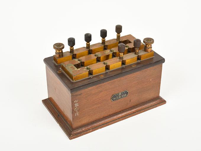 回路中継器抵抗箱 (1110Ω)